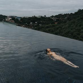 El sueño de estar en una infinity pool