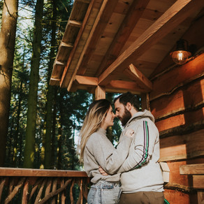 Dormir en una cabaña en un árbol