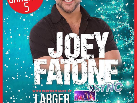 WE'RE PERFORMING WITH JOEY FATONE AGAIN!