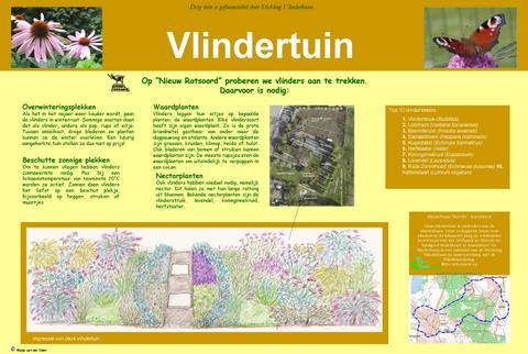 informatiebord vlindertuin