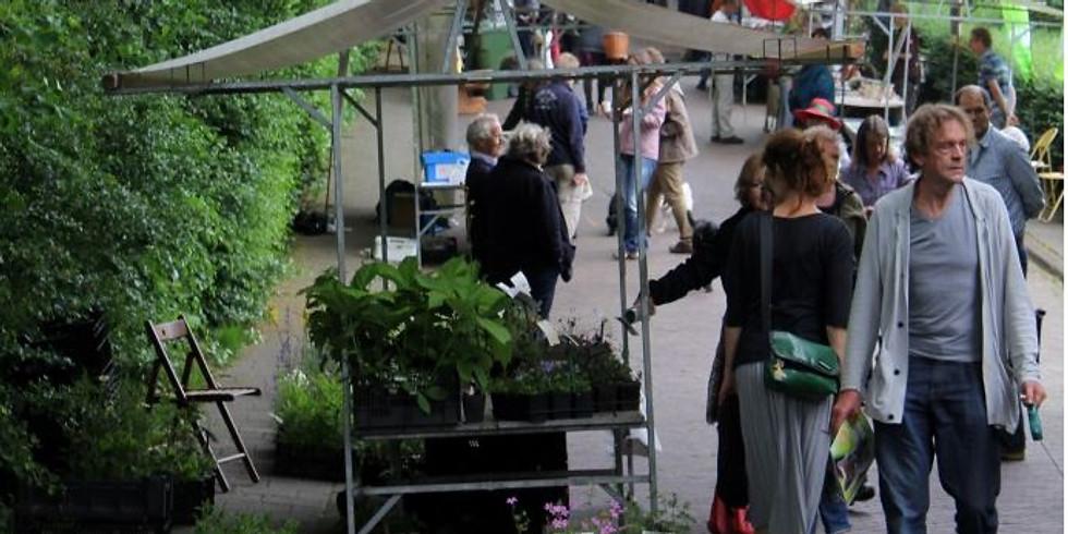Zompmarkt, groenmarkt rondom heemtuin de Zomp