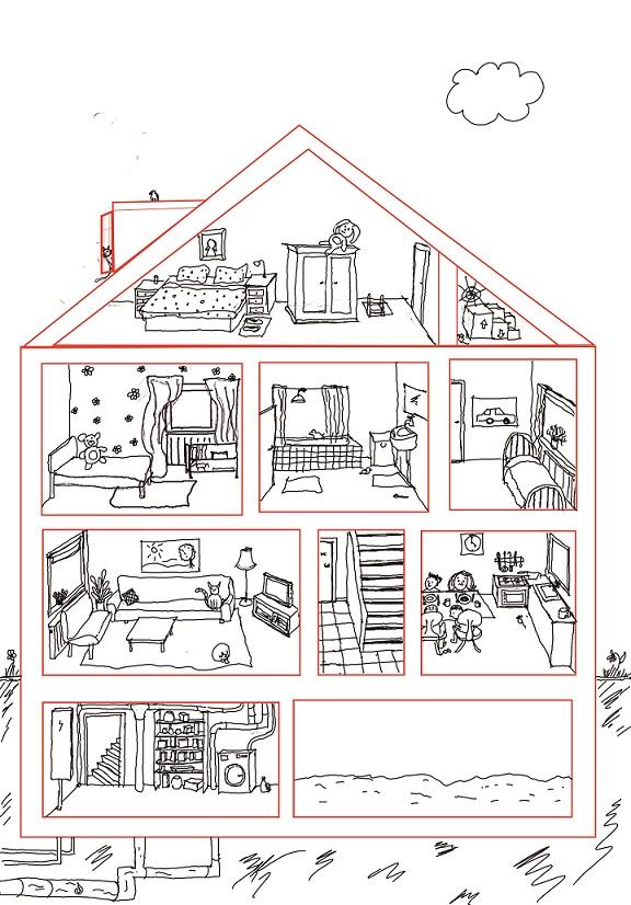 werkblad huis