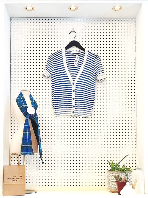 Ann Taylor Loft Short Sleeve Cardigan - Size XS