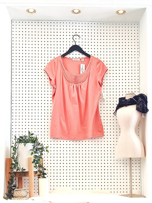 Liz Claiborne Knit Tee - Size Med