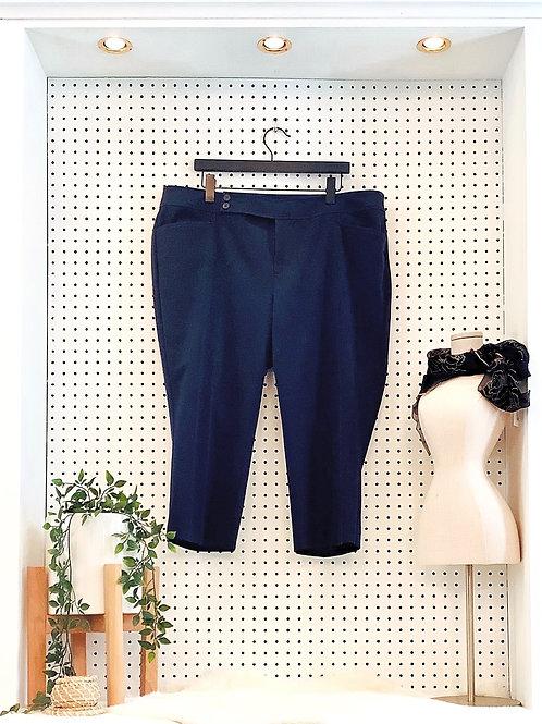 Chaps Cotton Stretch Capris - Size 18