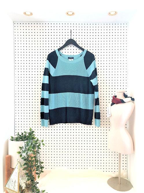 Chaps Cotton Knit Sweater - Size Large