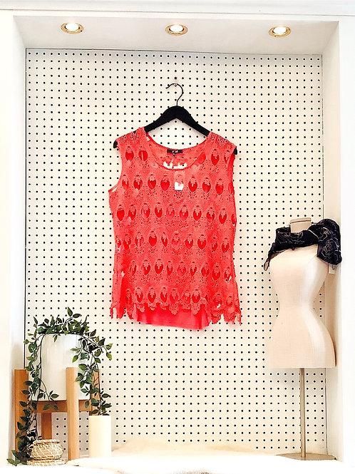 Yest Crocheted Blouse - Size Medium
