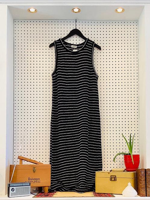 Vintage Knit Maxi Dress - Size Med/Large