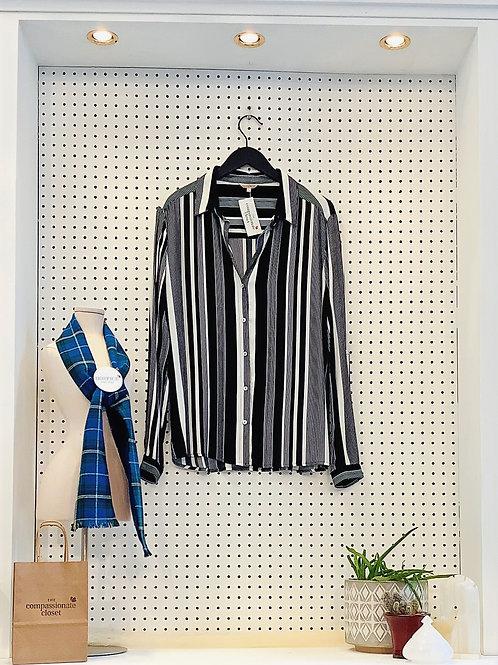 Esqualo Tunic Blouse - Size Small/Med