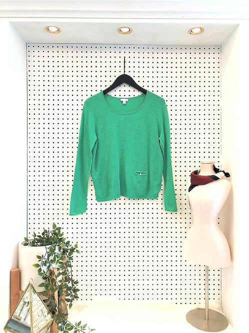 J. Jill Linen/Cotton Blend Sweater - Size Small