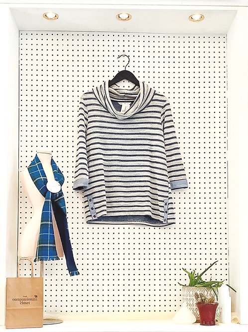 Cleo 3/4 Length Sleeve Knit - Size Med
