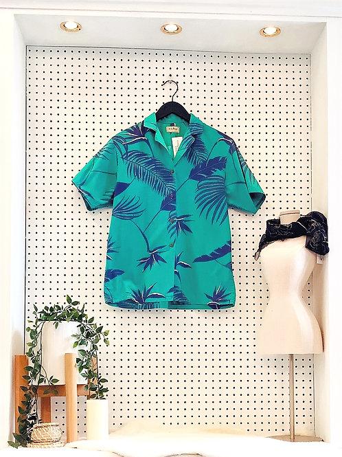 Vintage L.L. Bean 'Hawaiian Shirt' - Size Sm/Med