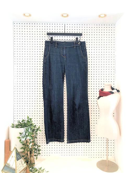 Ann Taylor Curvy Fit Wide Leg Jean - Size 6