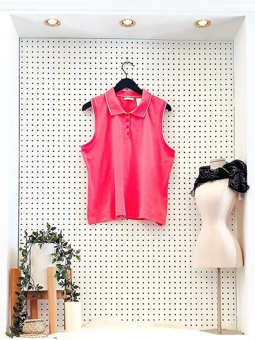 Liz Golf Sleeveless Polo - Size XL