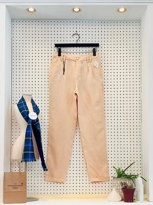 Massimo Dutti High Waisted Linen Pants - Size 4