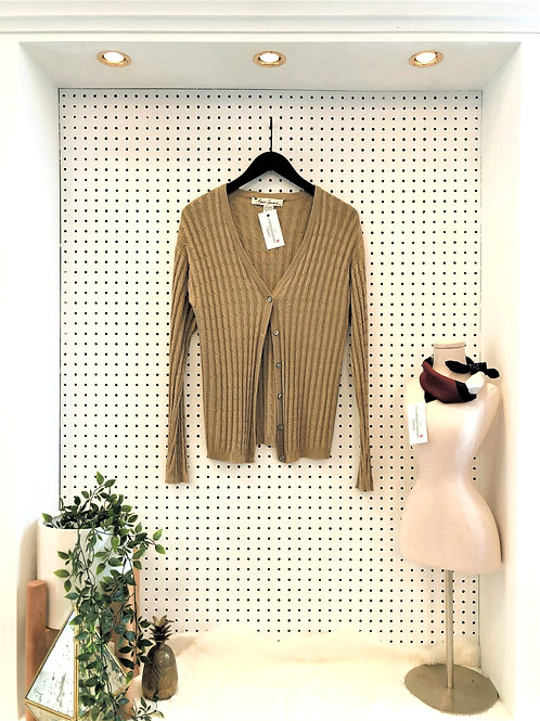 Bern Conrad 100% Silk Cardigan - Size Large
