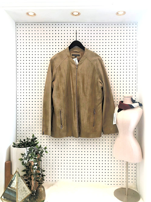 Additionelle Faux Leather Jacket - Size 1X