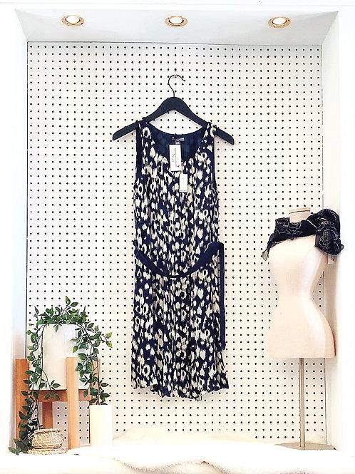 Gap Oversized Sleeveless Dress with Tie Waist- Size 2