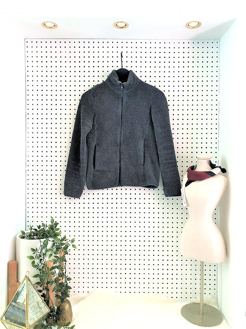 Uniqlo Puffy Fleece Full Zip Jacket - Size Extra Small