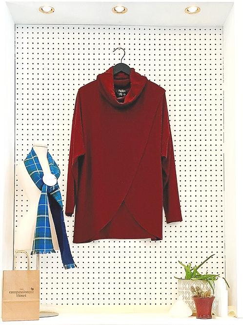 Papillon Tunic Sweater - Size Large
