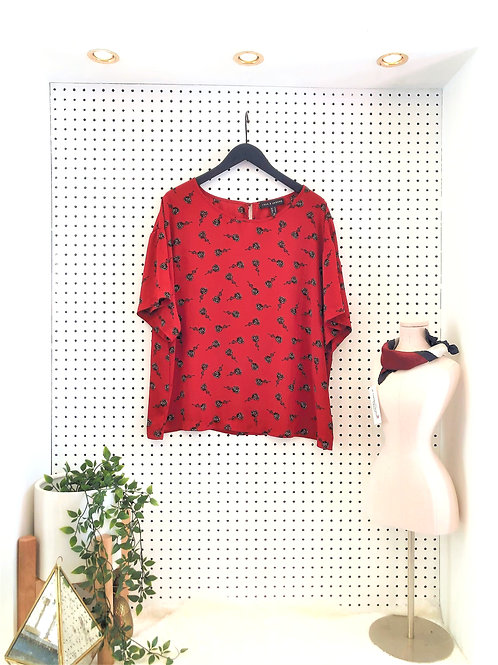 Love & Legend Short Sleeve Blouse - Size 18