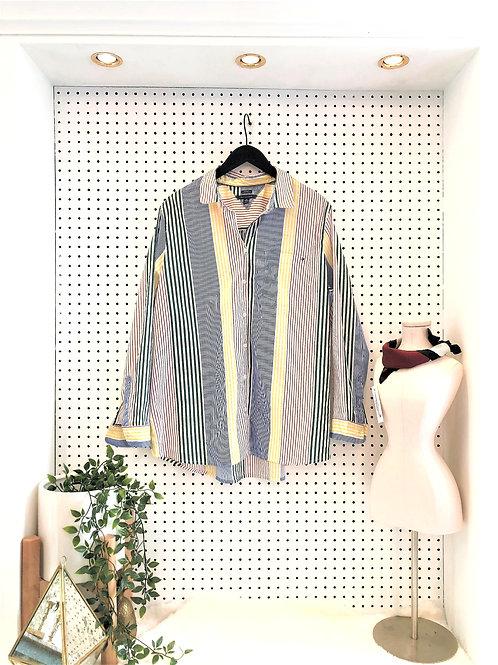 Tommy Hilfiger Classic Stripe Button Down - Size XXL