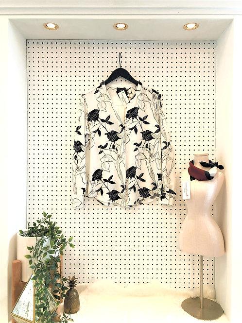 Willi Smith Floral Blouse - Size Medium