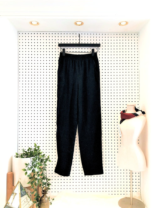 Forever 21 Linen Pants with Elastic Waist - Size Small