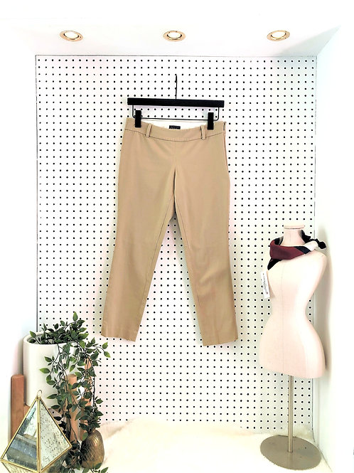 Babaton Cropped Pant with Side Zipper - Size 6
