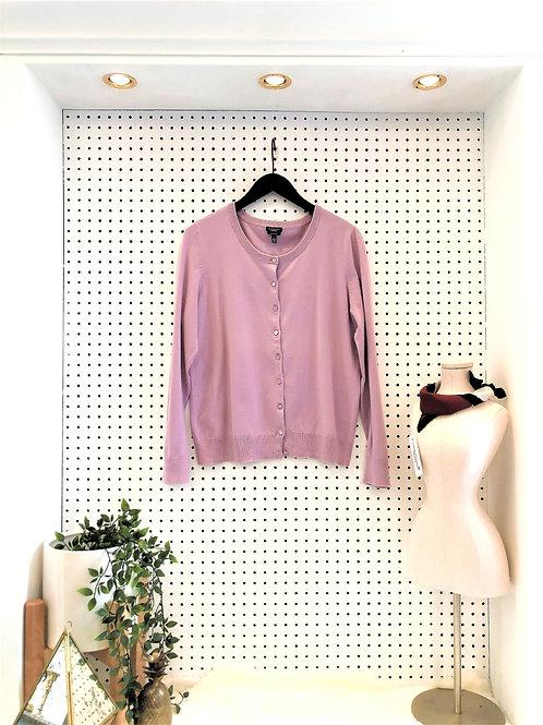 Talbots Pima Cotton Cardigan - Size Large