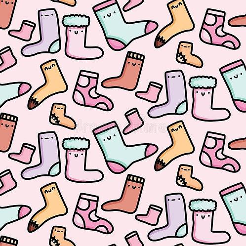 Suprise Bag of 10 Pairs of New Brand Name Socks