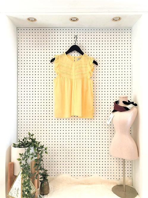 Urban Outfitters Ruffle Sleeveless Blouse - Size Medium