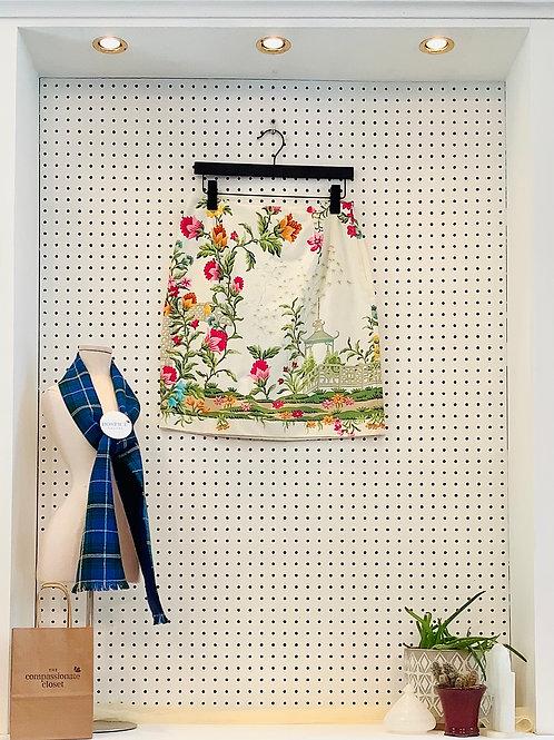 Talbots Stretch Cotton Skirt - Size 10