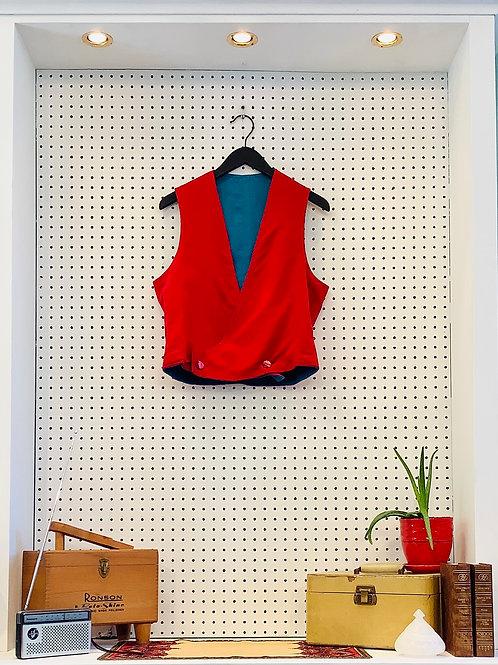 Handmade Reversible Vest - Size Small