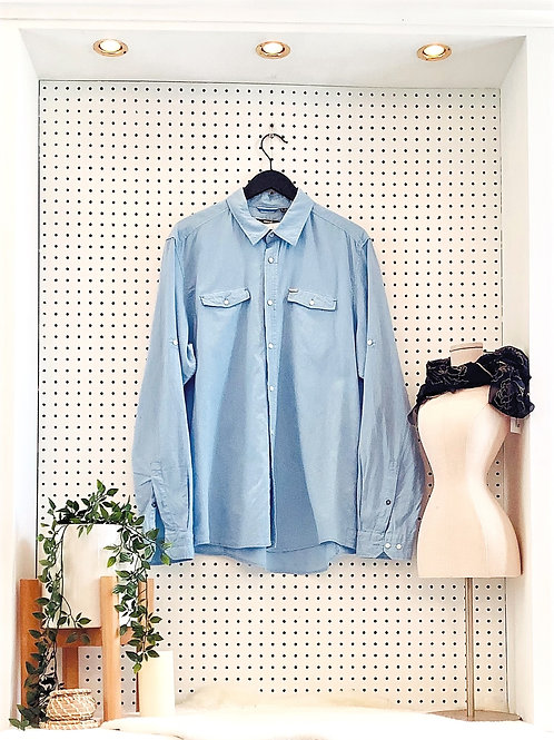 Mexx Linen Button Down - Men's Size XXL