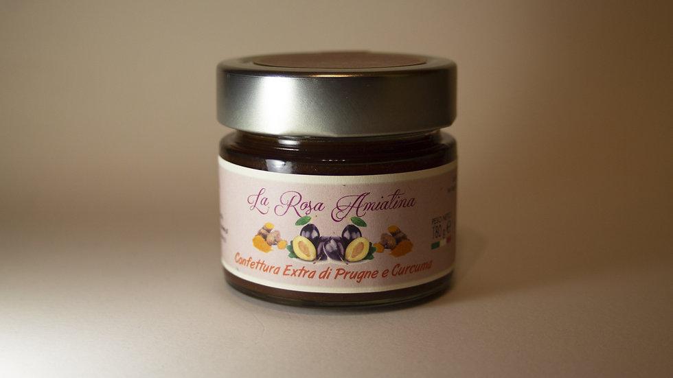 Confettura Extra di Prugne e Curcuma 180 g