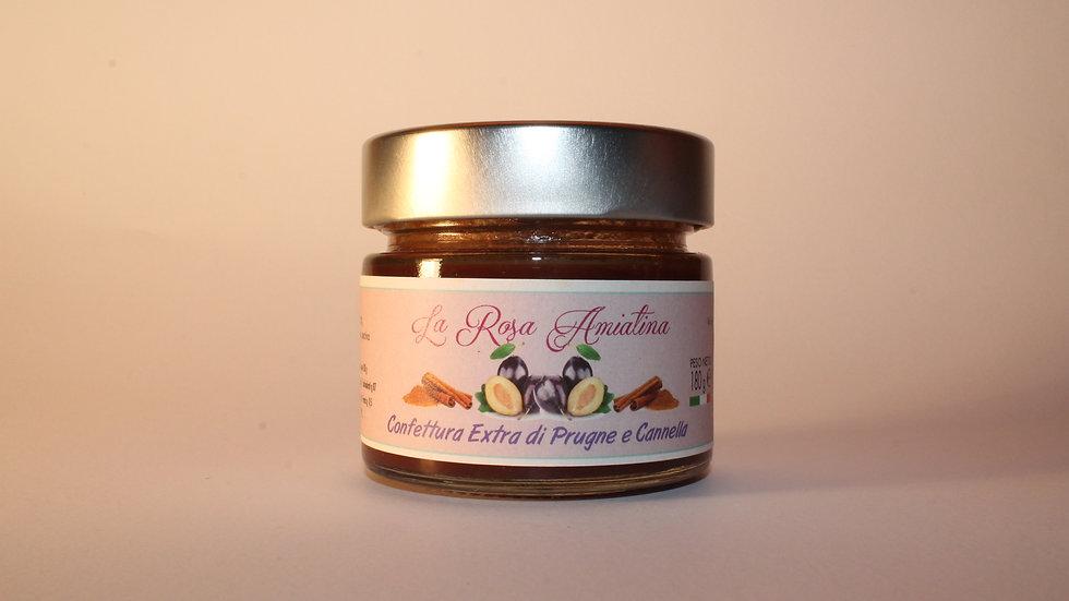 Confettura Extra di Prugne e Cannella  180 g