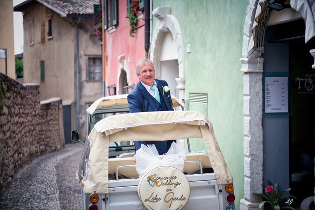 Weddings in Malcesine Castle on Lake Gar