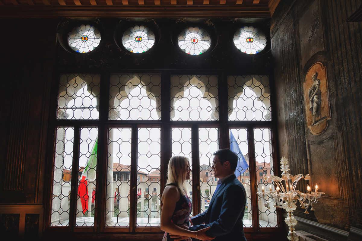ca sagredo venice wedding proposal (18).