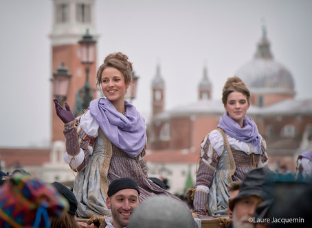 The procession of the Maries Carnival Venice 2018