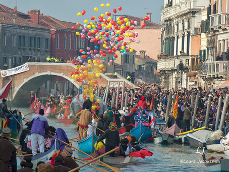 Venetian Festival on the water