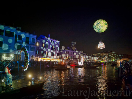Venetian water festival, inauguration of the Venetian Carnival