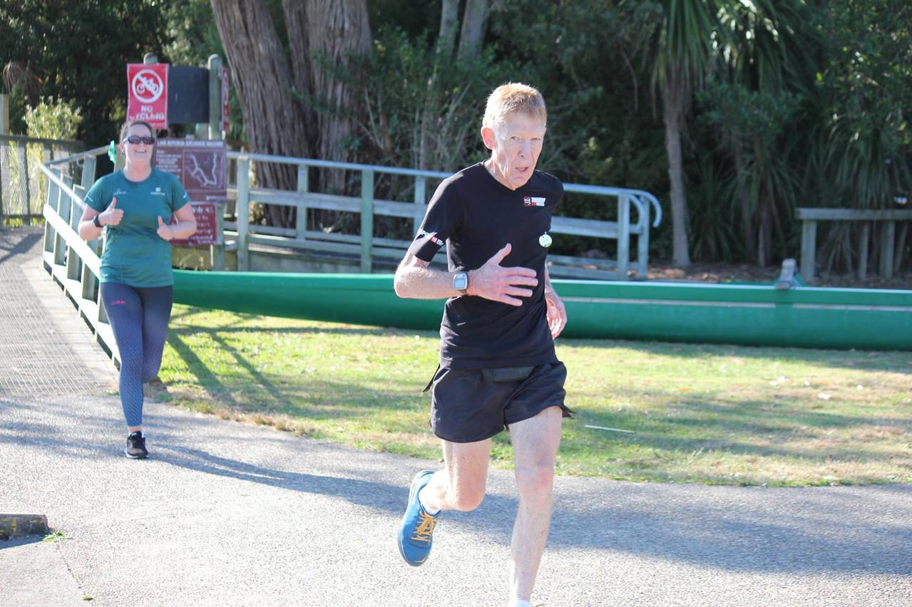 Festive Road Runners at Parkrun
