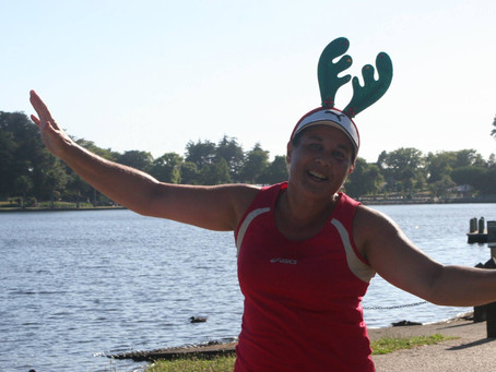 Festive Road Runners at Parkrun