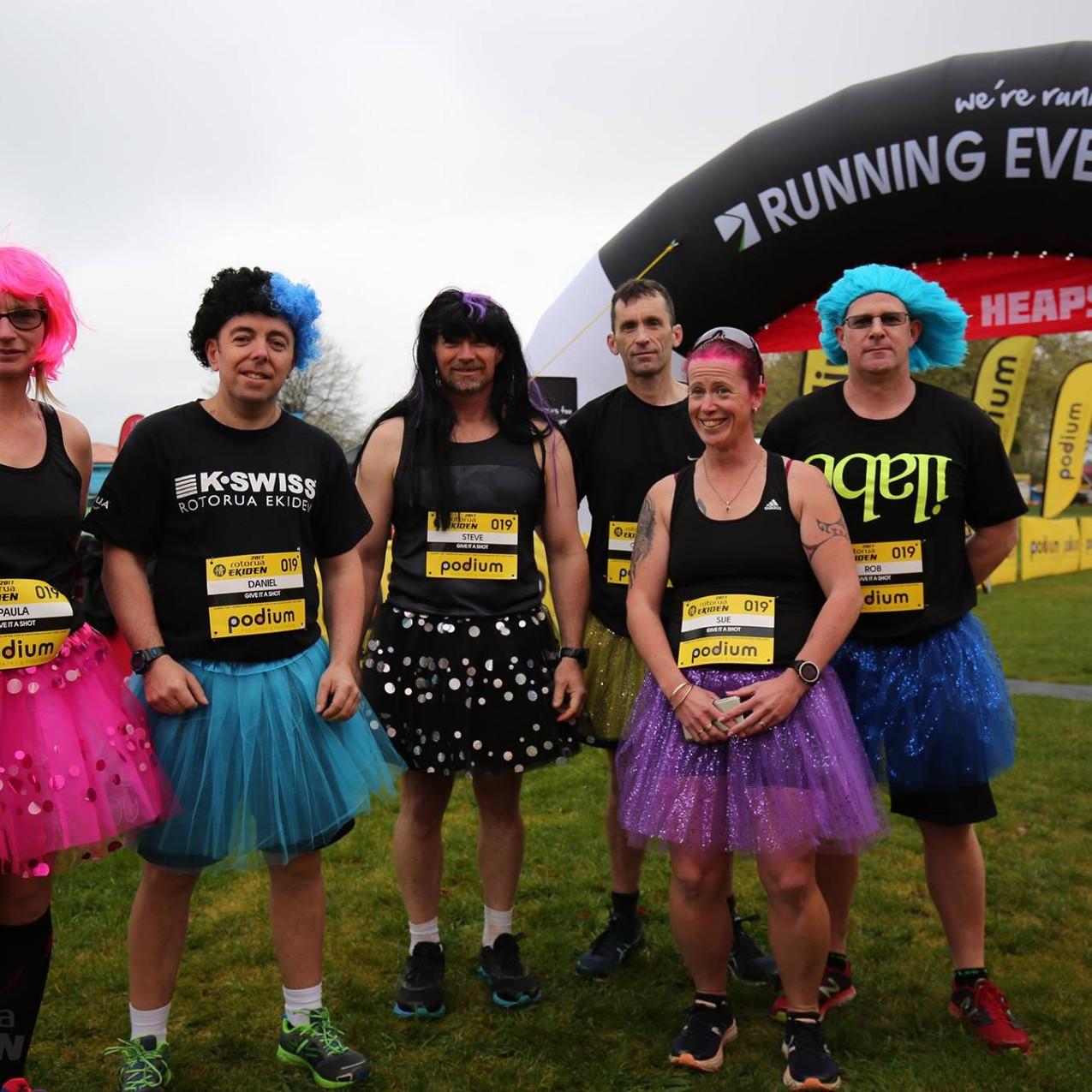 Fun Running in Fancy Dress