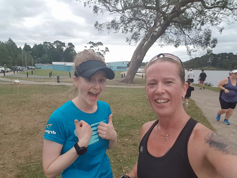 December Runners of the month: Mary & Sue