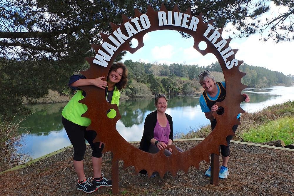Hamilton Road Runners at Little Waipa Reserve