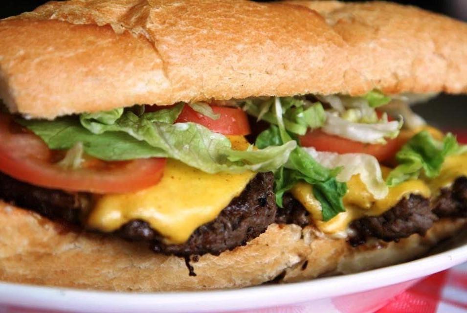 Cajun Burger Poboy or Cajun Impossible Burger Po Boy