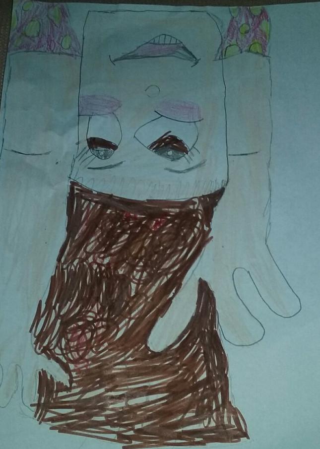Olha o que o Dani de 6 anos desenhou!