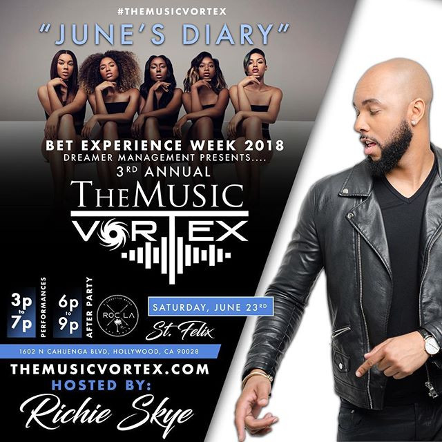 Richie Hosts the 3rd Annual Music Vortex